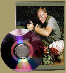 Combat Care Under Fire DVD Label With CD